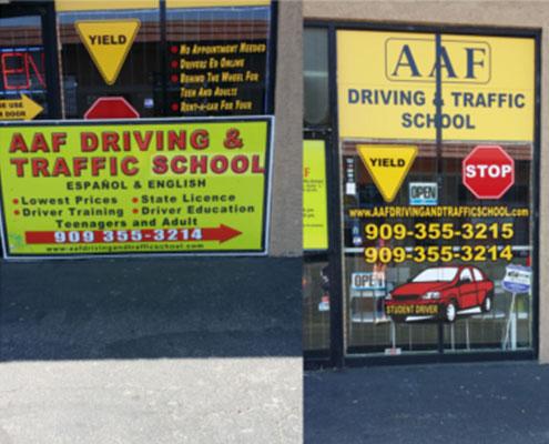 AAF Traffic School Fontana Outside
