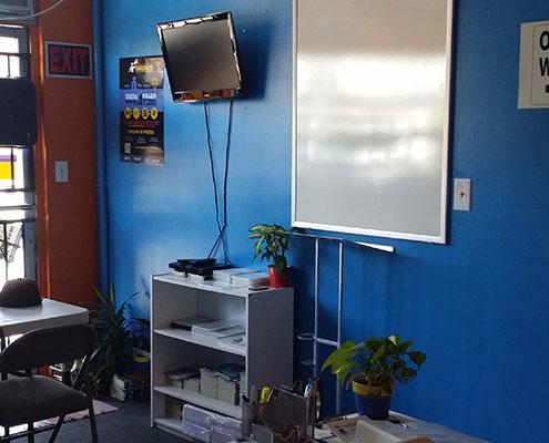 AAF Traffic School Classroom